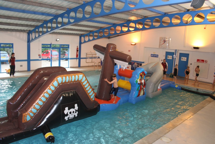 Brand New Inflatable Fun Sir Ben Ainslie Sports Centre Cornwall